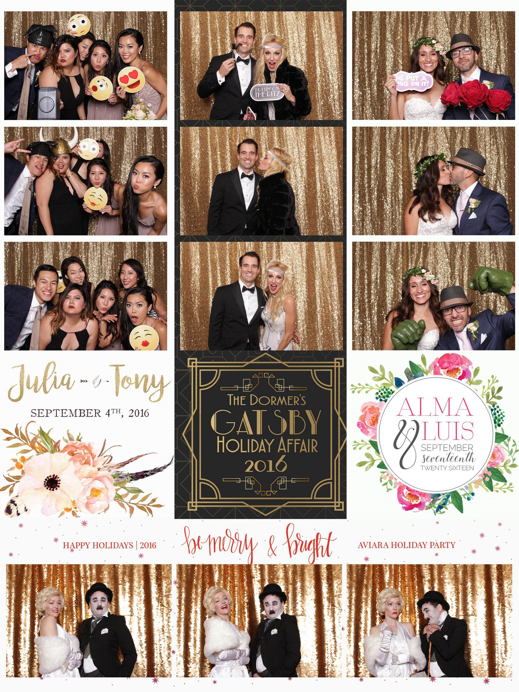Custom Photo Booth Prints Photo Booth Photo Booth Rental LA - Photo booth design templates